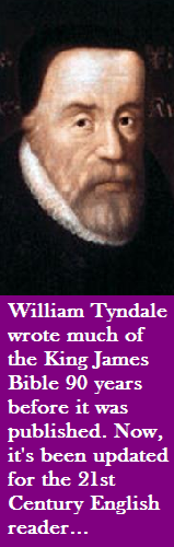 William Tyndale wrote the King